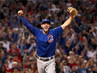 The Chicago Cubs players explain why the nearly disastrous rain delay actually helped them close out the World Series