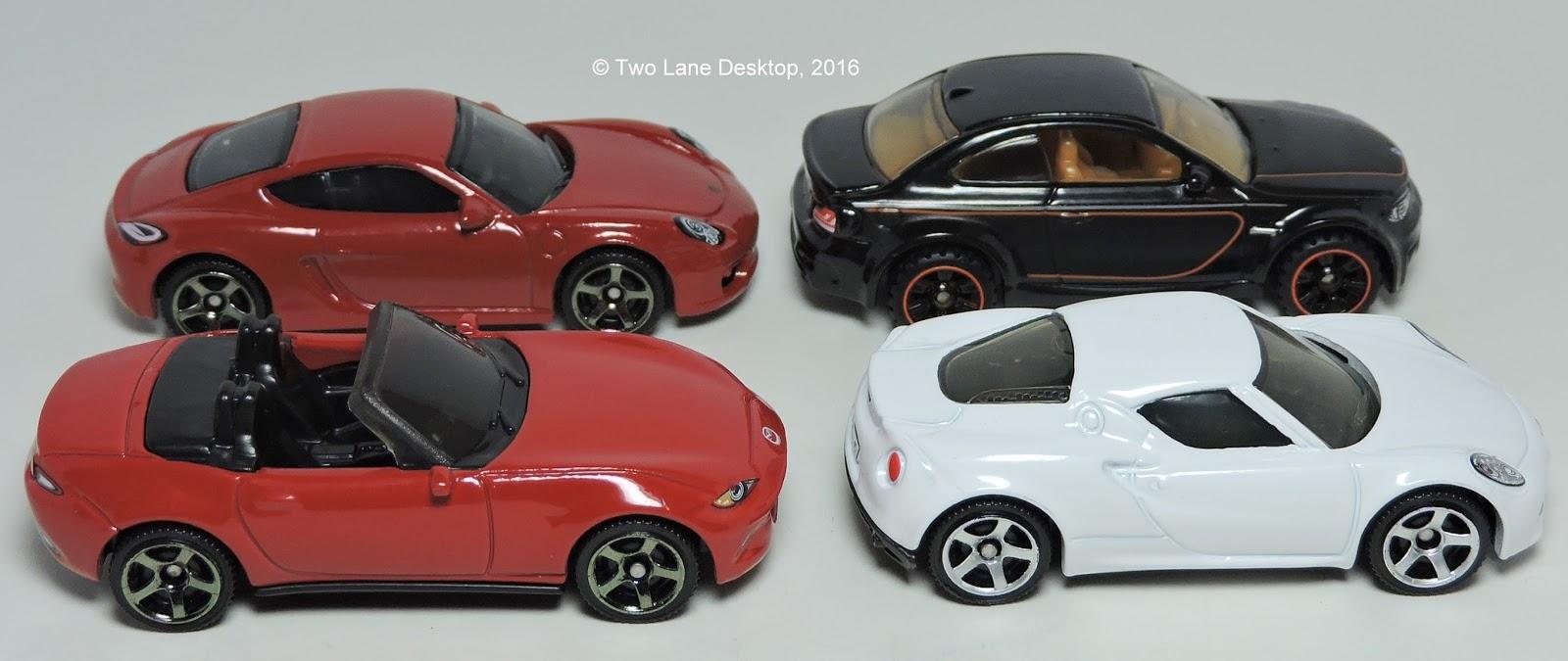 Two Lane Desktop Comparison Matchbox Sports Cars - Sports cars comparison