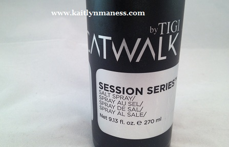 TIGI Catwalk Session Series Salt Spray