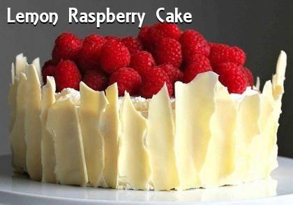 Gina's Favorites: Lemon Raspberry Cake