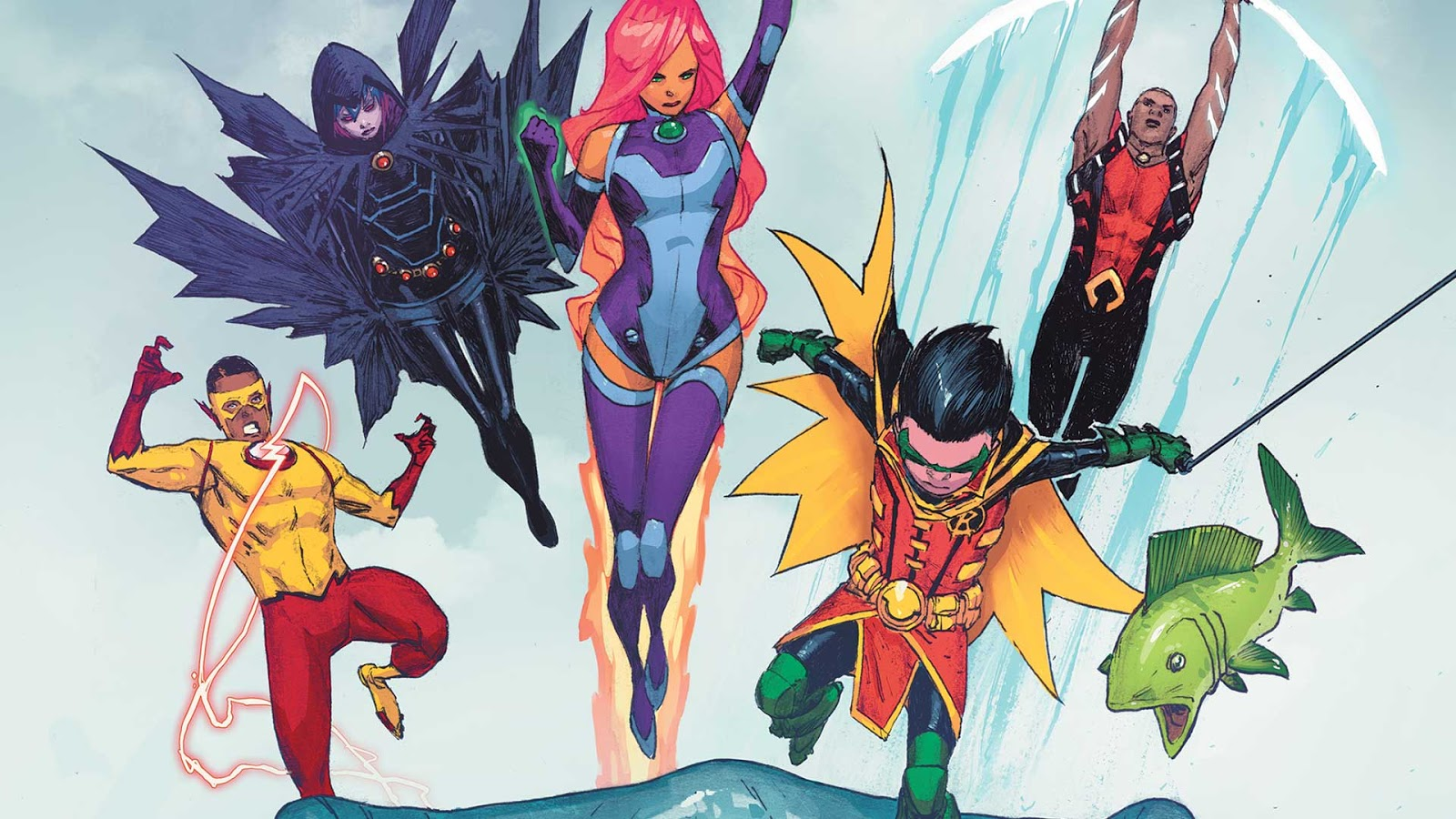 Weird Science Dc Comics Teen Titans 7 Review And -8787