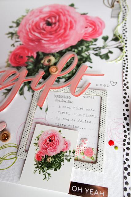 "scrapbook layout ""gift"" by kushi | www.kkushi.com"