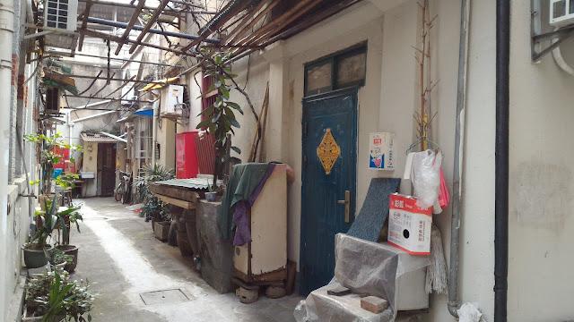 Shikumen du quartier japonais de Hongkou à Shanghai