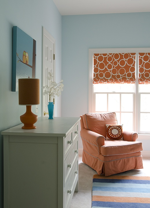 Window Treatments by Melissa: Decorating with Orange