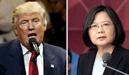 China lodges protest to Trump-Taiwan call