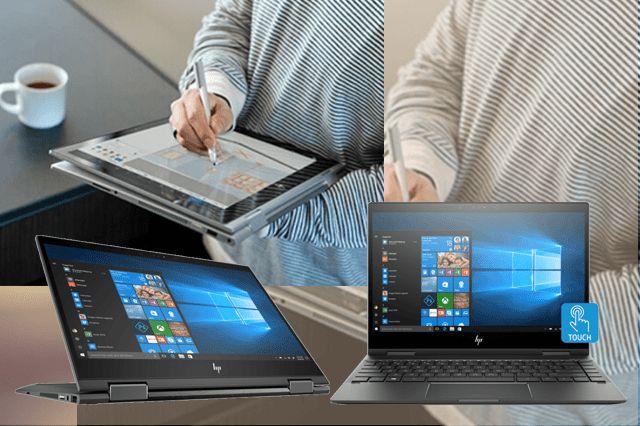 Fleksibel dan futuristik HP Envy X360