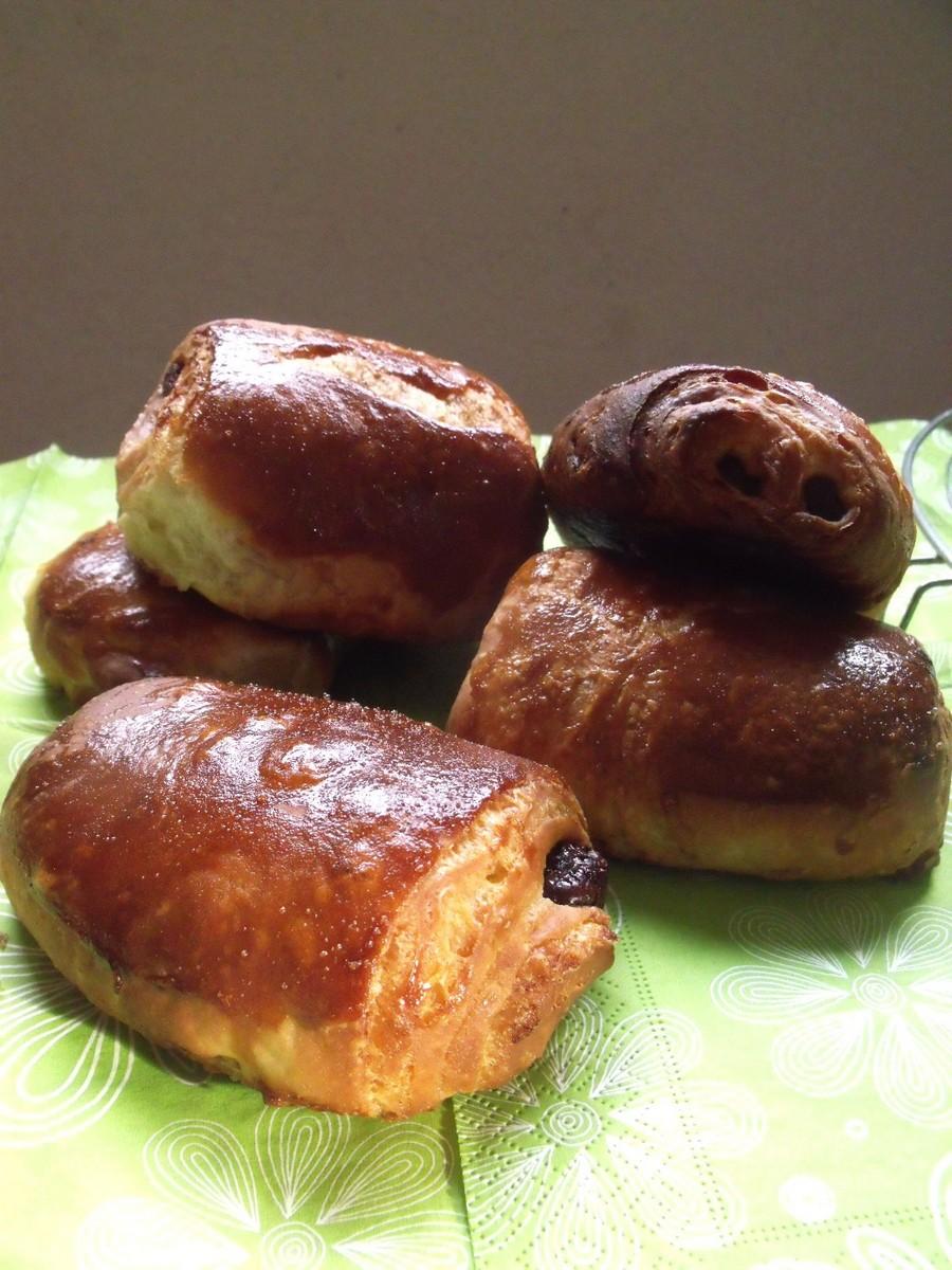 exp riences gourmandes petits pains au chocolat la p te feuillet e comme la boulangerie. Black Bedroom Furniture Sets. Home Design Ideas