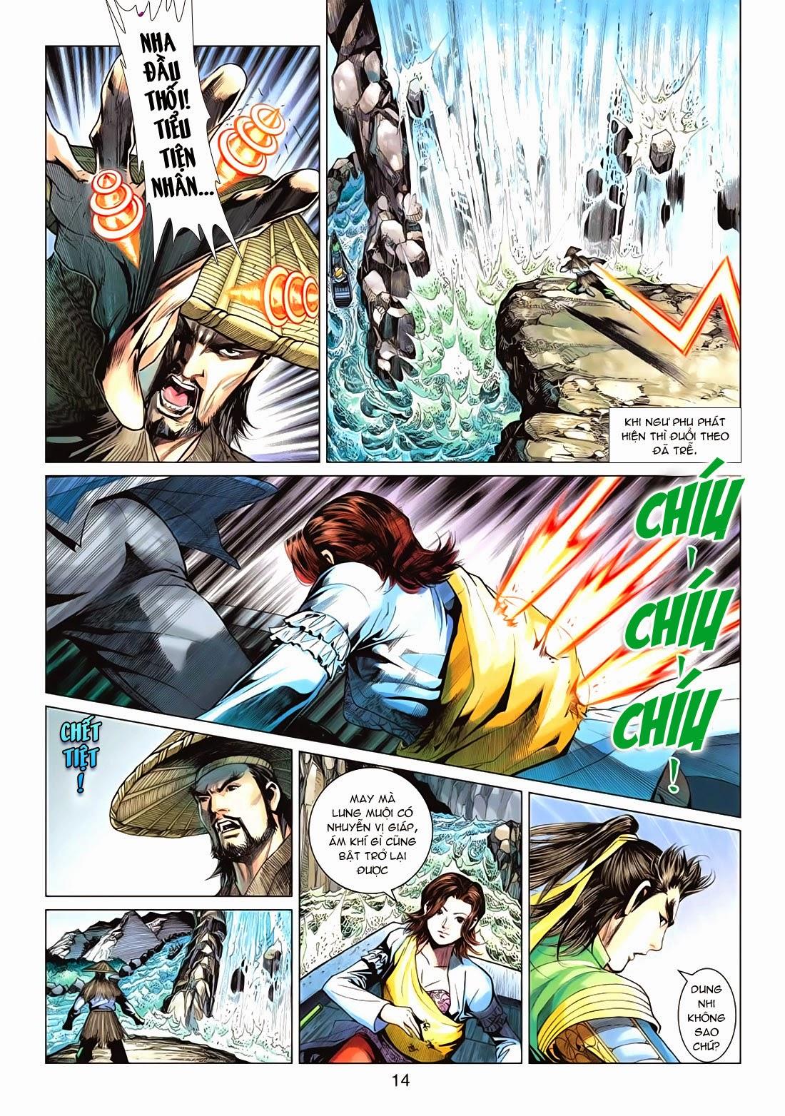 Anh Hùng Xạ Điêu anh hùng xạ đêu chap 72: ngư tiều canh độc trang 14