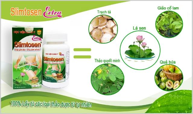 Slimtosen giảm cân an toàn và hiệu quả