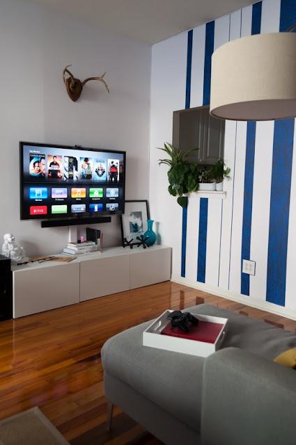 parede divisória sala / cozinha