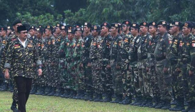 Ribuan Banser Berkumpul di Ragunan, Bantah Terkait Pilkada