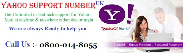 yahoo support contact uk