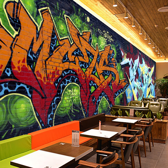 Graffiti Wall Mural Brick Wall Cool Mural