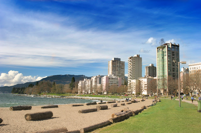 English Bay em Vancouver