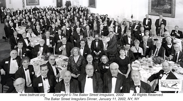 The 2002 BSI Dinner group photo