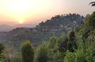 Bergamo sunset