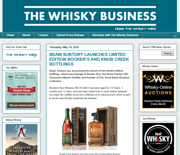 The Whisky Wire: The Whisky Business from The Whisky Wire