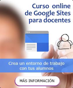 Curso de Google Sites para docentes