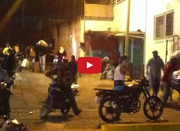 Noche de saqueos en San Cristóbal deja varios negocios vacíos