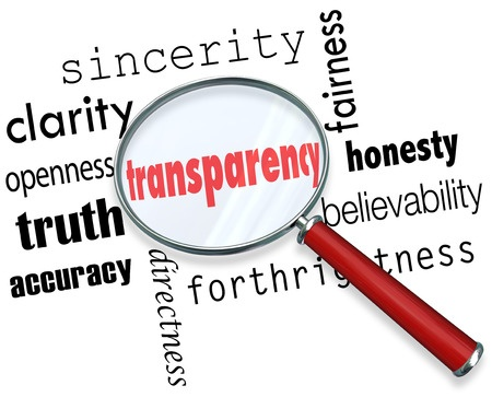 Transparency - What's it really mean?