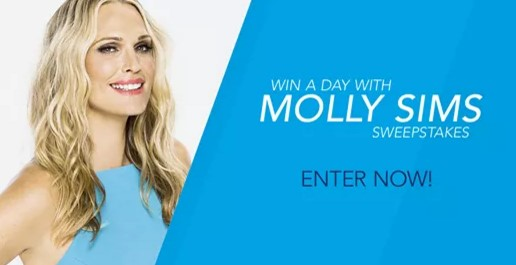 CoolSculpting wants you to enter daily for your chance to win a day out with model and actress Molly Sims in NYC for a day of beauty and CoolSculpting treatments worth almost $5000!