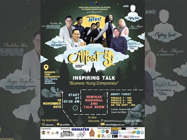 HIMA Akuntansi Politeknik Negeri Bandung Gelar Accounting Ledger Festival 9th (ALFEST)