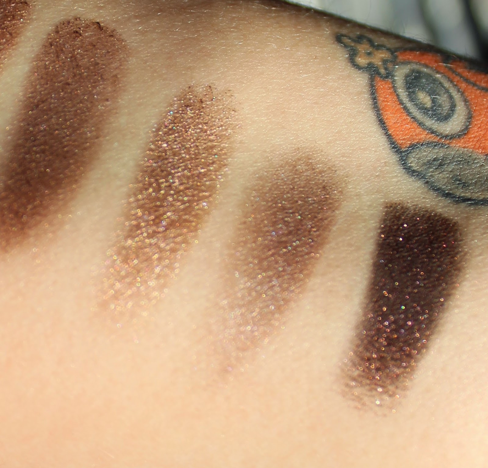 naked 3 swatches