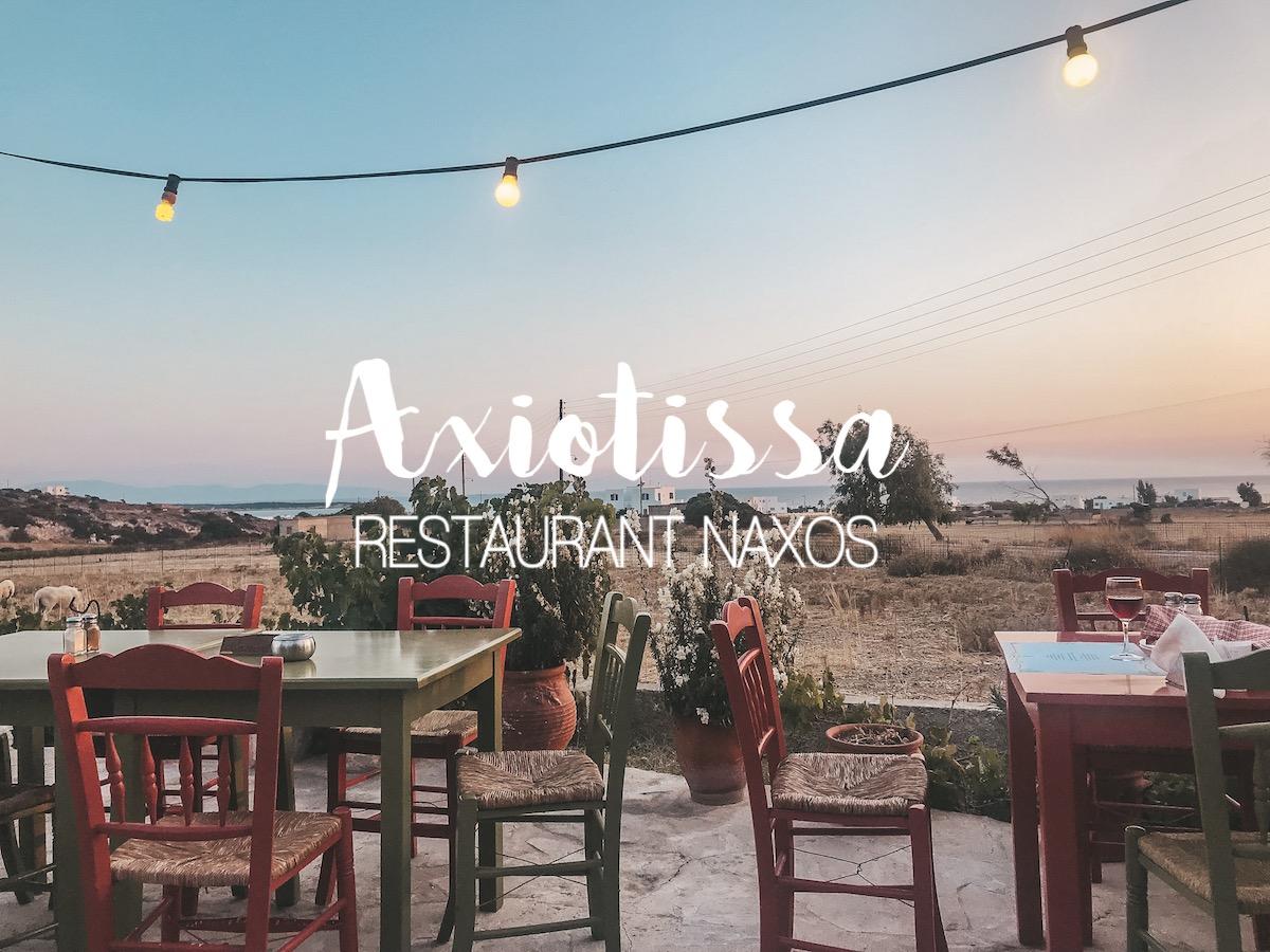 Naxos Travel Diary Reise Tipps Beste Restaurants Tavernen der Insel Local Tipps www.theblondelion.com TheBlondeLion