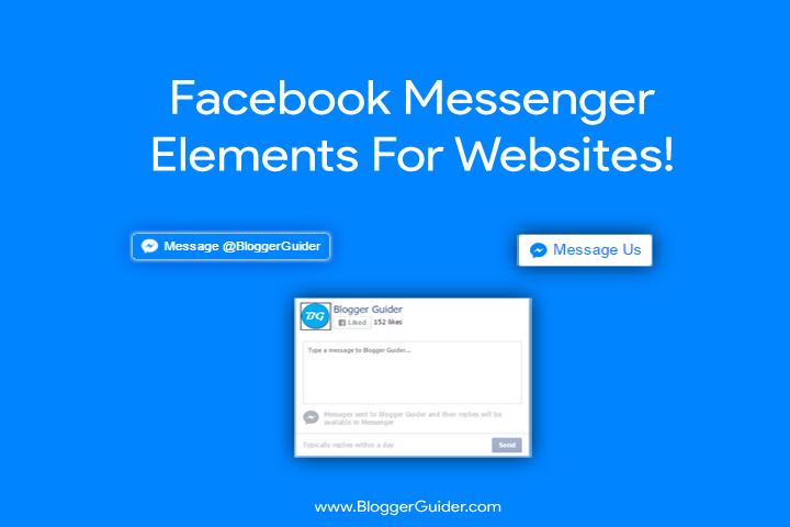 Facebook Messenger Buttons