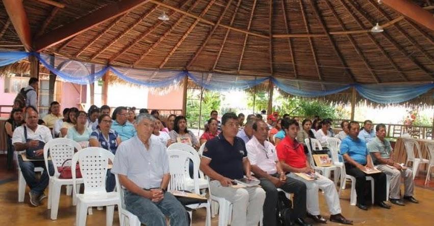 UGEL Lamas capacita a directores de instituciones educativas para elaborar plan de gestión de riesgo - www.ugellamas.gob.pe