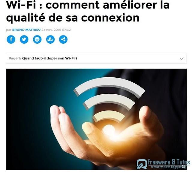 Le site du jour : comment améliorer sa connexion Wifi