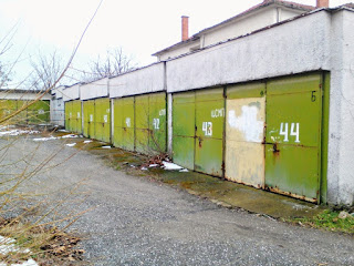 Uniform, Lined Up, Garages, Yambol,