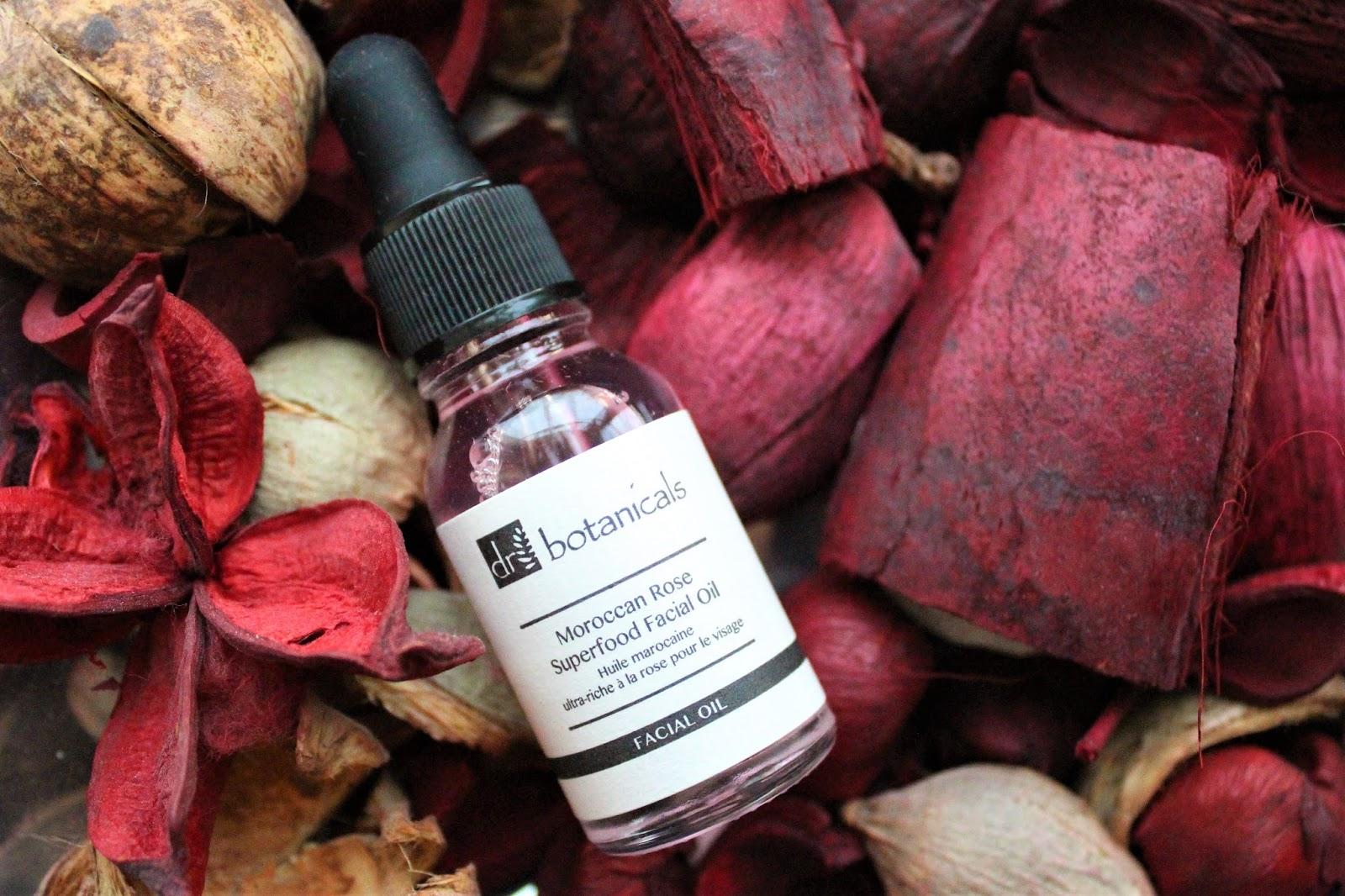 dr botanicals moroccan rose facial oil