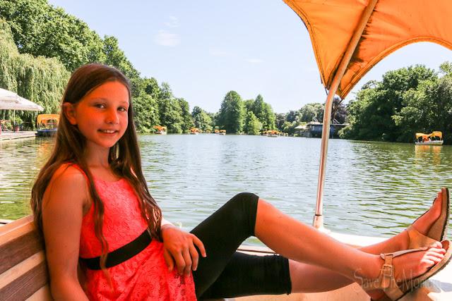 Godolettas Boote im Luisenpark Mannheim LouForYou