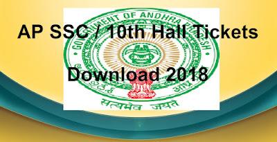 Manabadi AP 10th Hall Tickets 2018 Download, eenadu sakshi schools9 SSC 2018 Hall Tickets