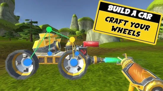 Evercraft Mechanic Sandbox from Scrap Apk+Data Free on Android Game Download