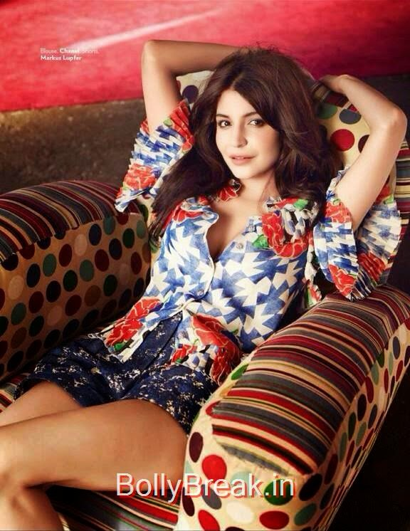 , Anushka Sharma Hot HD Scans From Vogue Magazine January 2015