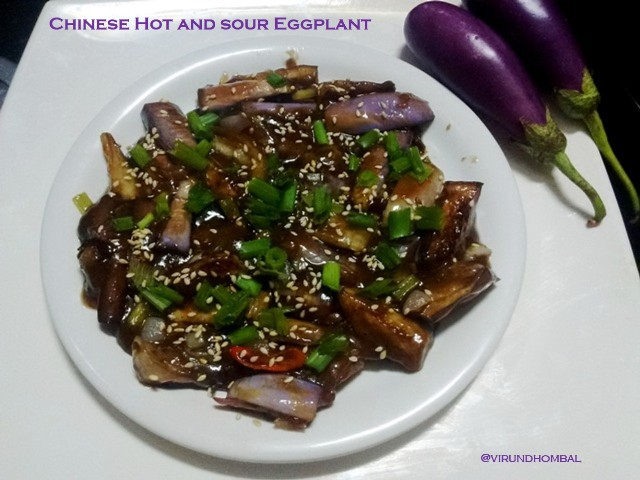 This is a very popular dish in Chinese cuisine. This hot and sour eggplant is an easy and delicious dish with very few ingredients that are already available in your pantry. The Chinese eggplant has thinner skins and few seeds, but I have substituted it with the small purple Indian brinjals.Chinese Hot and Sour Eggplant is a popular aromatic and delicious dish. You can try making this amazing Chinese Hot and Sour Eggplant in your kitchen. This recipe requires 10 minutes for preparation and 10 minutes to cook. Now let's see how to prepare this dish with step by step photos.