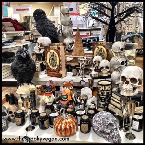 the spooky vegan halloween 2016 at homegoods