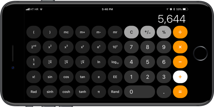 New Bug In iOS 11 Calculator App: Typing 1+2+3 In The App