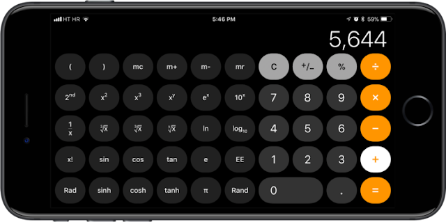 New Bug In iOS 11 Calculator App: Typing 1+2+3 In The App Won't Get You 6, Due To Animation Lag