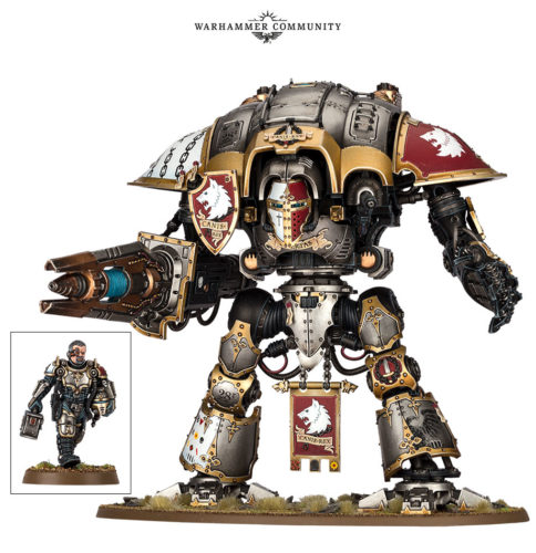Sir Hekhtur The Chainbreaker... Imperial Knight Character