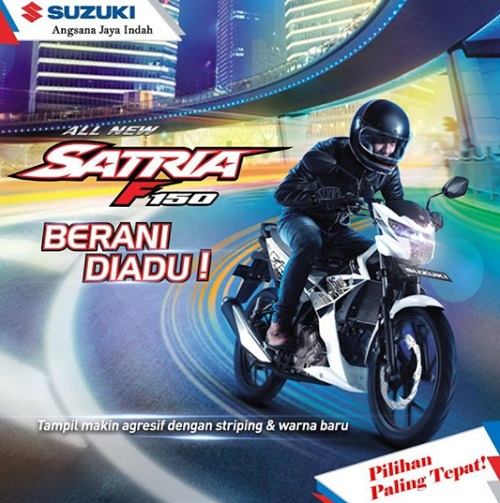 Harga Suzuki satria FU terbaru