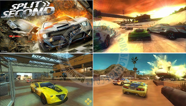 download Game Split Second Velocity ISO HighCompress Untuk PPSSPP