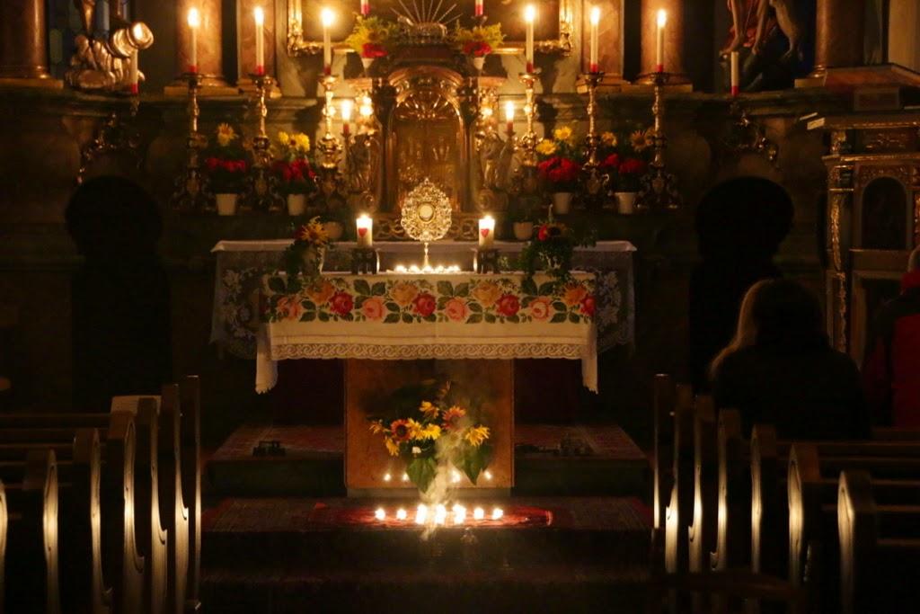 Gebete für die heilige Anbetung am Donnerstag