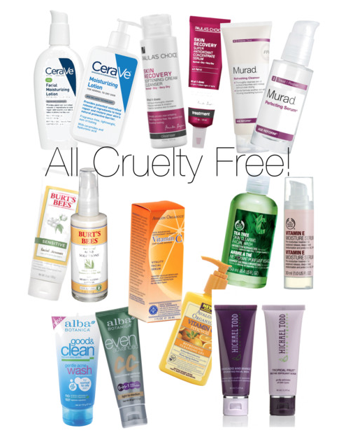 Skin Care Brands: CRUELTY FREE SKIN CARE BRANDS