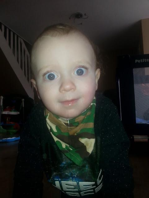 toddler boys face