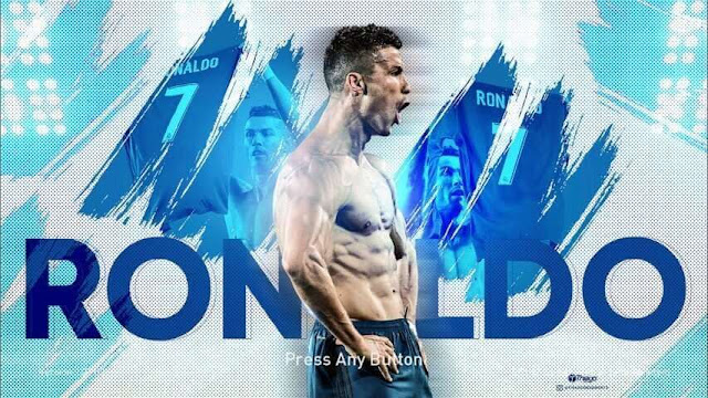 Start Screen Ronaldo PES 2018