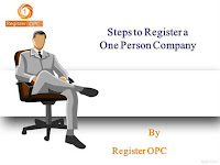 One Person Company Registration in Tiruppur