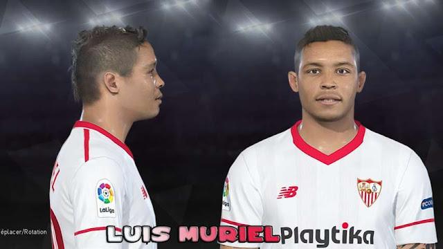 Luis Muriel Face PES 2018